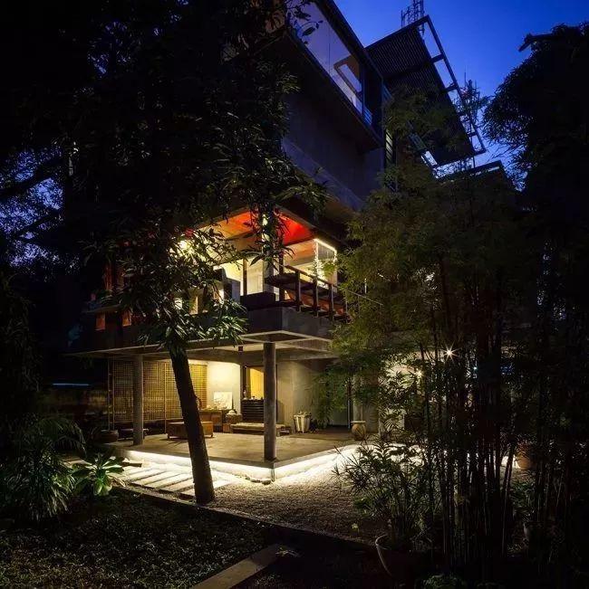泰国芒果树别墅,隐匿于树林中的理想之居