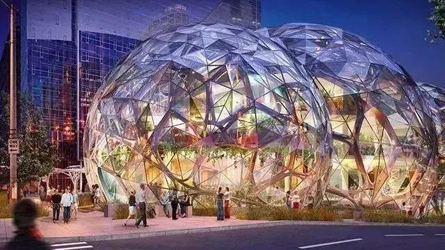 亚马逊新总部狂砸 40 亿美元,建造了一片热带雨林