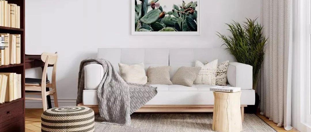 大白墙的现代设计,美翻了!