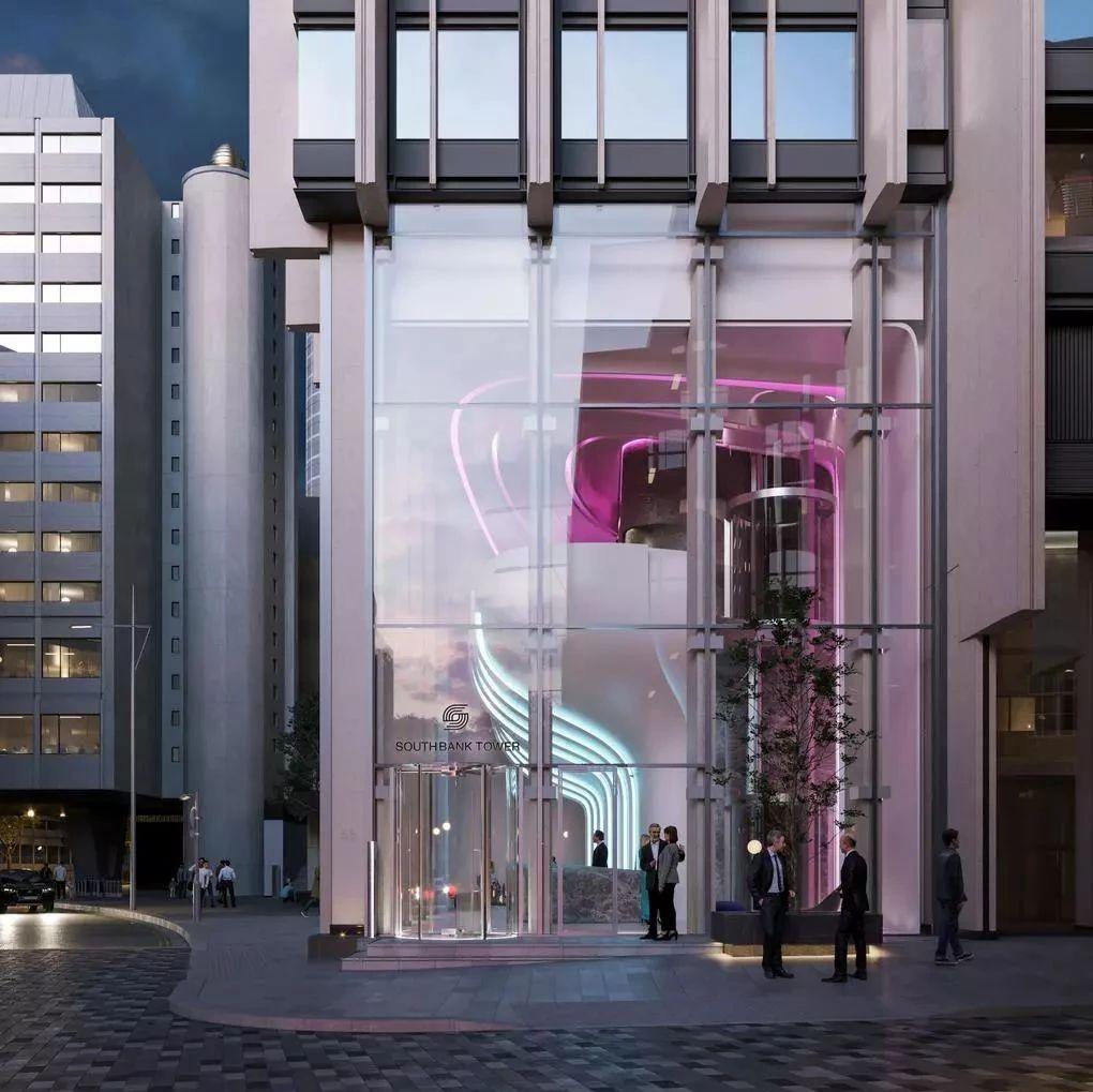 扎哈建筑事务所以花为灵感,首次翻修伦敦公寓大堂